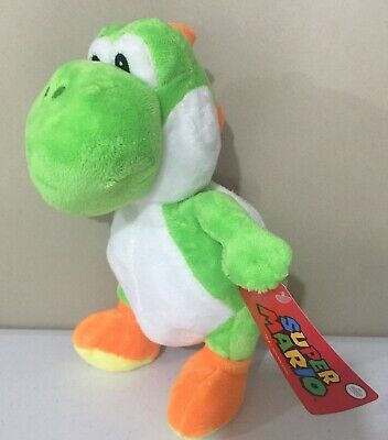 AU27.95 • Buy Licensed Super Mario Yoshi Plush Toy New With Tags 25cm