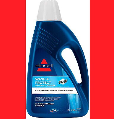 Bissell Wash Remove Deep Clean Double Concentrated Carpet Shampoo Cleaner 1.5L • 16.50£