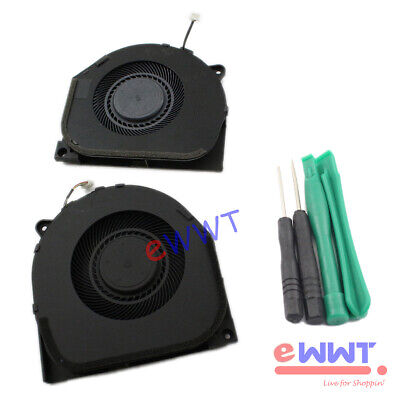 AU25.58 • Buy Replacement GPU + CPU Cooling Fan + Tool For Lenovo Legion Y7000 Laptop HXOP451