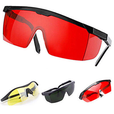 Eye Safety Glasses Polycarbonate Lens For Multicolor Laser UV Protection Goggles • 4.39£