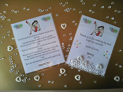 £1.75 • Buy Personalised Hen Party Favour/keepsake Gift - From The Bride To Be