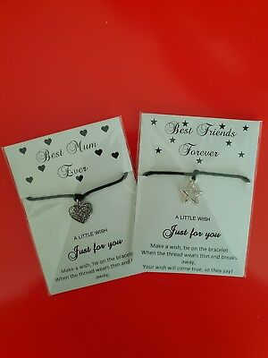 Wish Bracelet-friend-mother-sister-someone Special-daughter-godmother Gift • 2.25£