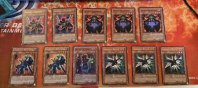 Yu-Gi-Oh Infernity 11 Card Assorted Set. Gold/Rare/Common Mix • 21.99£
