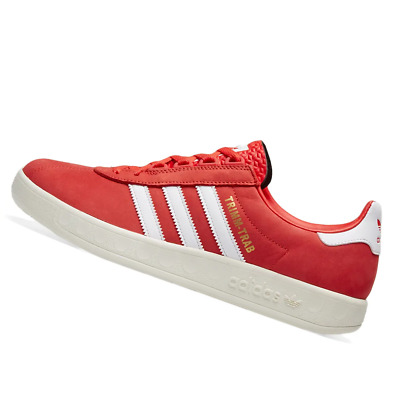 AU105.95 • Buy ADIDAS MENS Shoes Trimm Trab - Active Red, White & Gold - OW-BD7629