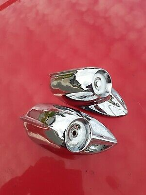 AU239 • Buy  ORIGINAL GMH NASCO Pair REAR REFLECTOR HOUSINGS For HOLDEN FJ  RECHROMED