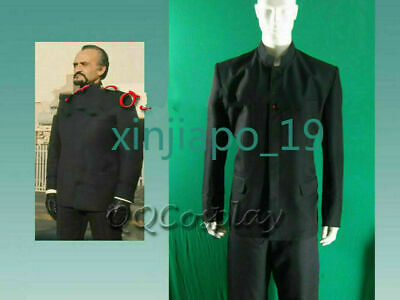 Doctor Who The Master Roger Delgado Cosplay Costume • 52.99£