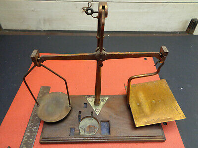 Antque Degrave & Co Post Office Marked Letter Scales CB02GP05 • 31.30£