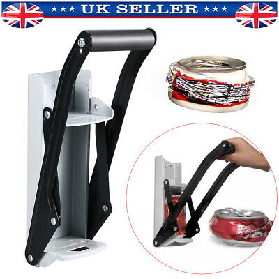 £8.38 • Buy 16OZ 500ml Can Crusher Recycling Tool Wall Mounted Beer Tin Bottle Opener Tools