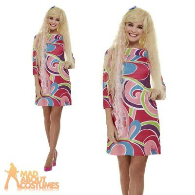 £32.99 • Buy Adult Ladies Totally Hair Barbie Doll Costume 1990s Womens Fancy Dress Outfit