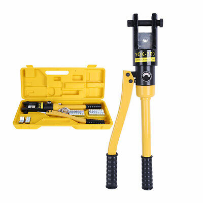 $ CDN190.29 • Buy YQK-300 Hydraulic Wire Battery Cable Lug Terminal Crimper Crimping Tool & Dies