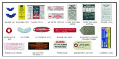 NEW  Decal Set For The 1/8 Scale ECTO 1 Partwork • 12.50£
