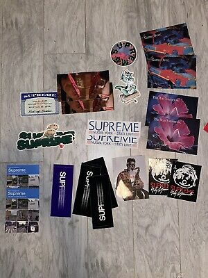 $ CDN10 • Buy Single Supreme Sticker Box Logo Plus Lots Of Others Styles 100% Authentic New