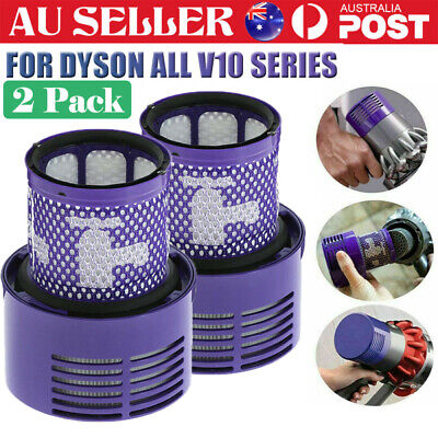 AU15.99 • Buy Genuine For DYSON Filter V10 Cyclone Animal Absolute Total Clean Washable SV12