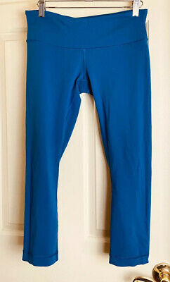 $ CDN59.63 • Buy Lululemon Wunder Under Leggings Size 6 Teal Blue