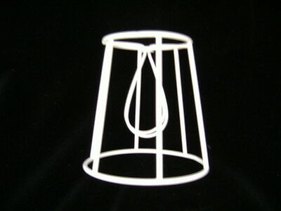 Straight  Empire  Clip On  Lampshade Frame   5   Base • 4.90£