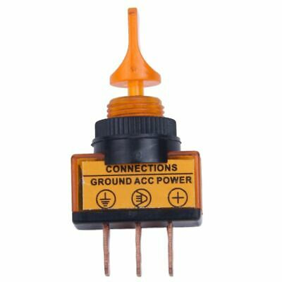 12V 20A Illuminated Flick Toggle SPST Switch Car Van Dash Boat Light New Or Y3G7 • 1.73£