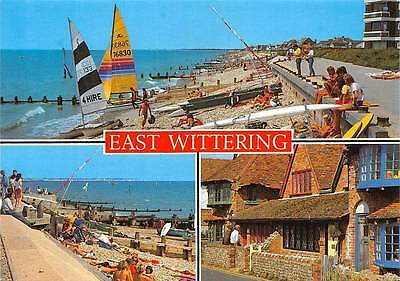 East Wittering The Beach Boats Promenade Cottages • 1.88£
