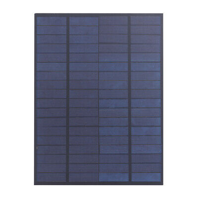 AU13.82 • Buy 5W 18V Solar Panel Polycrystalline Silicon Solar Charger For 12V Battery