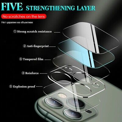 AU15.99 • Buy For IPhone 12 11 Pro Max Mini Camera Lens Tempered Glass Screen Protector Cover
