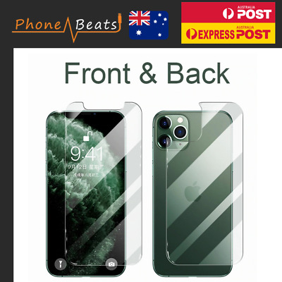 AU15.99 • Buy For IPhone 12 11 Pro Max Mini Back Tempered Glass Screen Protector Gorilla Cover