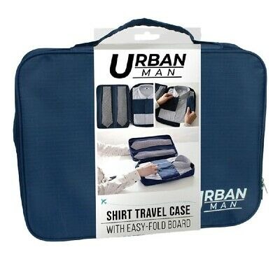 AU17.95 • Buy Urban Shirt Travel Case Tour Bag Business Luggage Blue For Men