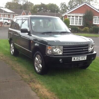 2003 Land Rover Range Rover HSE V8 Auto  With LPG - Green- Spares Or Repair • 1,595£