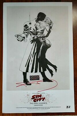 £417.57 • Buy 2016 Nycc Exclusive Frank Miller Signed Sin City Poster The Hard Goodbye Nice