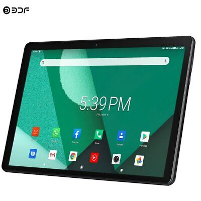 New Tablet Pc 10.1 Inch Android 9.0 Tablets Octa Core Google Play 3g 4g LTE • 131.99£