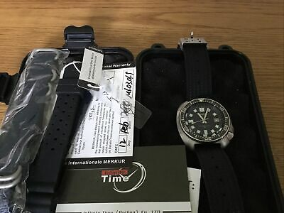 Seiko 6105 Homage (Captain Willard) Boxed With Paperwork And Extra Straps • 230£