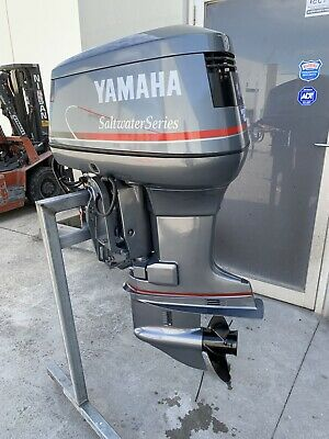 AU6299 • Buy 115hp Yamaha SaltWater Series Outboard Motor (Freight Australia Wide )