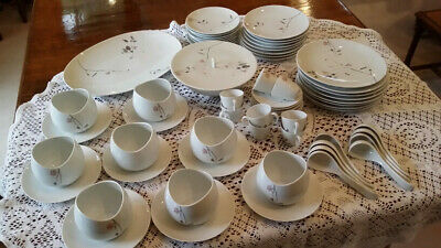 Rosenthal Quince 59 Piece Full Dinner Set For 8 Plus Meat Plate&vegetable Dish • 50£