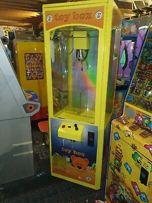 Coin Operated Toy Box Small Teddy Grabber Arcade Machine  • 950£