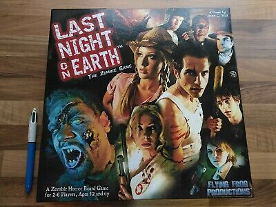 Last Night On Earth+ CD Soundtrack, UNPLAYED & COMPLETE, The Zombie Board Game • 16£