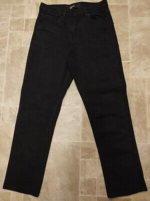 Womens Black Jeans Simply Be  Size 12 • 2.20£