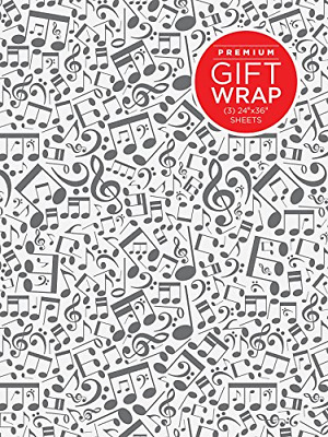 Music Notes Wrapping Paper • 8.76£