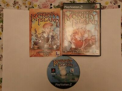 Sony PlayStation 2 Escape From Monkey Island Complete Pal  • 5£