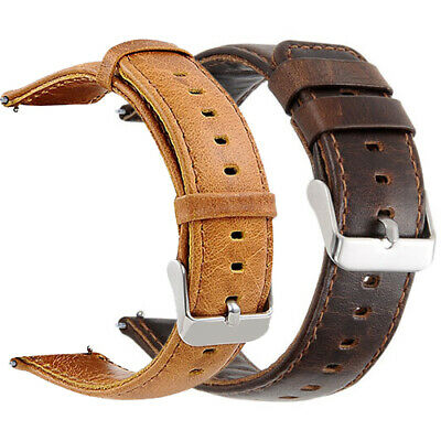 $ CDN17.48 • Buy Genuine Leather Band For Fitbit Blaze Smart Watch 23MM Replacement Watch Band