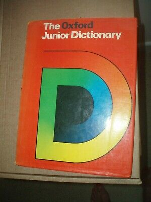 THE OXFORD JUNIOR DICTIONARY 1978 By Rosemary Sansome Hardback • 2.10£