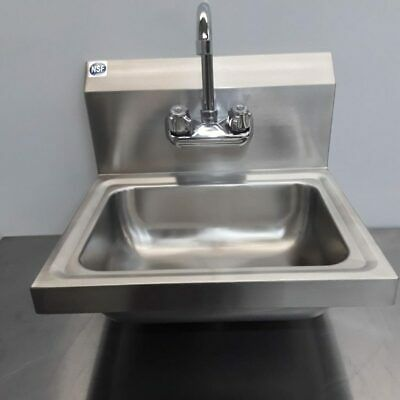 Commercial Hand Sink Stainless Wash Basin • 84£