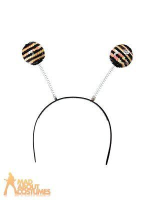 Sequin Bumble Bee Boppers Fancy Dress Outfit Insect Book Week Day Accessory • 2.99£