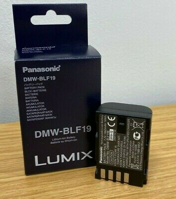 ONE MONTH OLD GENUINE PANASONIC DMW-BLF19 BATTERY (Lumix G9, GH5, GH5s) • 16£