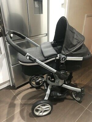 Graco Symbio Dk Grey Travel System,Exc Cond. Collection Brentwood/Poss Drop Off • 39.99£