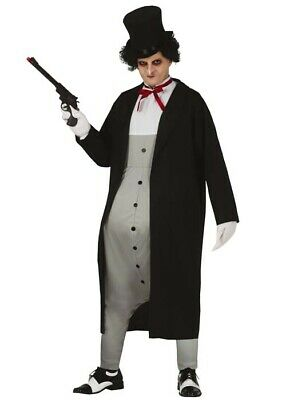 £24.99 • Buy Mens The Penguin Style Villain Costume INCLUDES PADDED JUMPSUIT AND JACKET ONLY