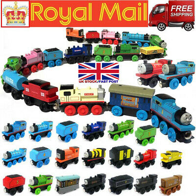 The Tank Engine Wooden Magnetic Train Railway Carriages Car Toy Kids Xmas Gift • 5.29£