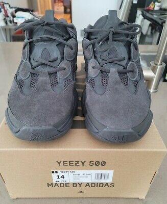 $ CDN493.41 • Buy Adidas Yeezy 500 Utility Black US Size 14 100% Authentic VNDS.
