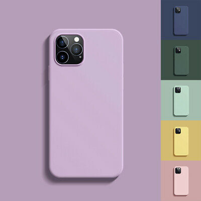 AU9.99 • Buy For IPhone 12/Pro/Max/Mini 11 Shockproof Liquid Silicone Case Heavy Duty Cover