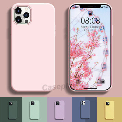 AU9.99 • Buy Shockproof Liquid Silicone Case Cover For IPhone 13 12 Pro Max 11 XR SE XS MAX