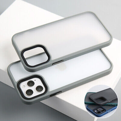 AU12.99 • Buy For IPhone 12/Pro/Max/Mini Bumper Shockproof Case Clear Silicone Matte Cover