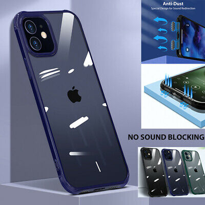 AU9.99 • Buy For IPhone 12/Pro/Max/Mini Clear Shockproof Silicone Bumper Case Hybrid Cover
