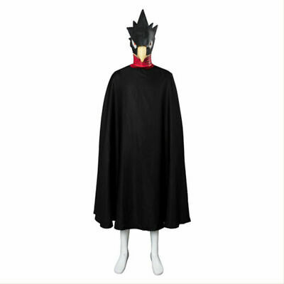My Hero Academia Tokoyami Fumikage Cosplay Costume Eagle Outfit Only Cloak • 38£